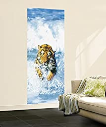 Bengal Tiger Mural Wallpaper Mural 34 x 79in