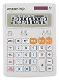 【Amazon.co.jp限定】大型電卓 DT950TXA-W 12桁 新税率対応  ホワイト