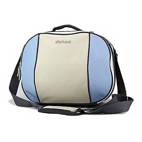 Super Diaper Fashion Diaper Tote Bags Large Oxford Baby Bags For Baby Nursery Bottle Bags (Blue)