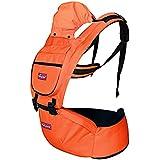 FancyLand Adjustable 360 Degree Multi Functional Newborn Baby Carrier Infant Comfort Shoulder Waist Stool Backpacks / Orange