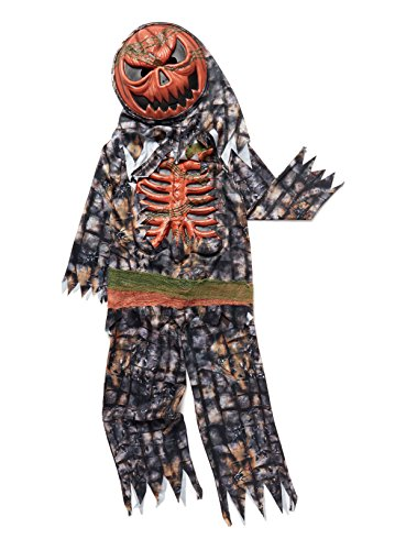 halloween-zombie-pumpkin-monster-fancy-dress-boys-costume-with-sound-effects-and-mask-ages-7-8-9-10-