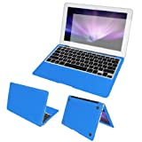 MacBookの11用ボディラッププロテクターデカールブルースクリーンフィルムダストキャップ」