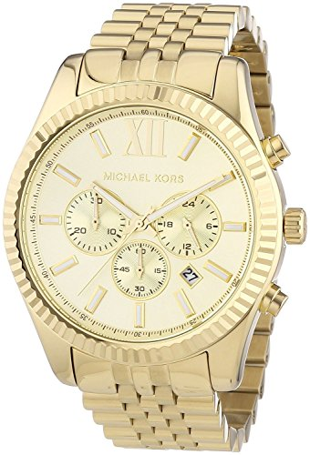 Michael Kors Watches Lexington Mk8313 (Gold)