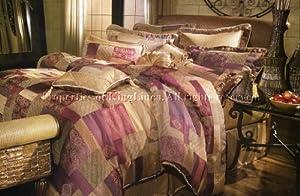 9PCS MOROCCAN TAPESTRY COMFORTER SET BED IN A BAG QUEEN