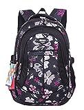 JiaYou Kid's Flower Printed Backpack
