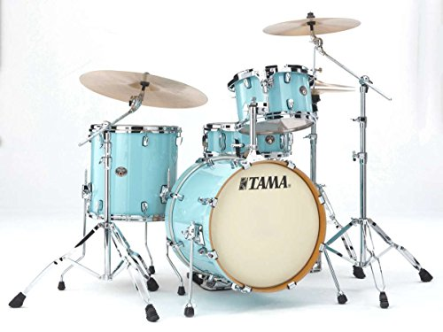 TAMA-VP48S-LBL-SILVERSTAR-CUSTOM-4-SHELLS-181214-WITHOUT-HARDWARE-LIGHT-BLUE-LACQUER-Drumsets-Jazz-drumkit