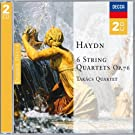 Haydn six string quartets, op