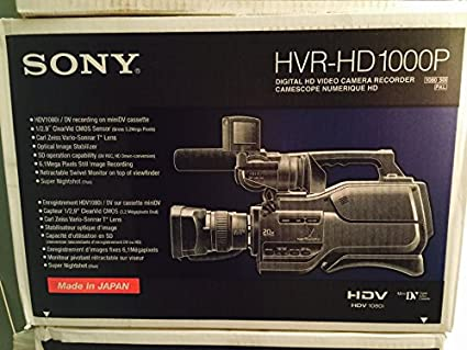 Sony-HVR-HD1000P-Camcorder