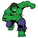 Roommates The Hulk Classic Giant Wall Decal (Multi-Color)
