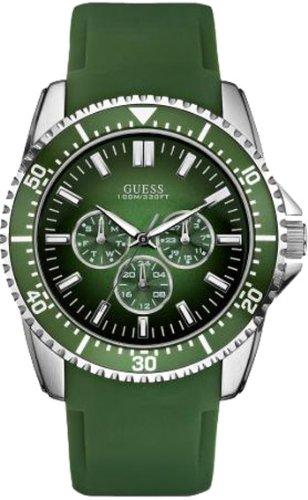 Guess W90070G4 Mens FOCUS Green Multi Watch