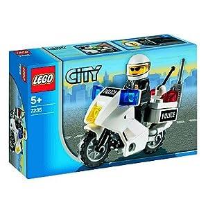 Lego jeux lego city jeu de construction la moto de - Jeux de motos de police ...