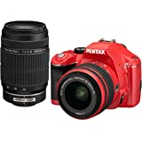Pentax K-x Digital SLR Lens Kit w/ DA L 18-55mm