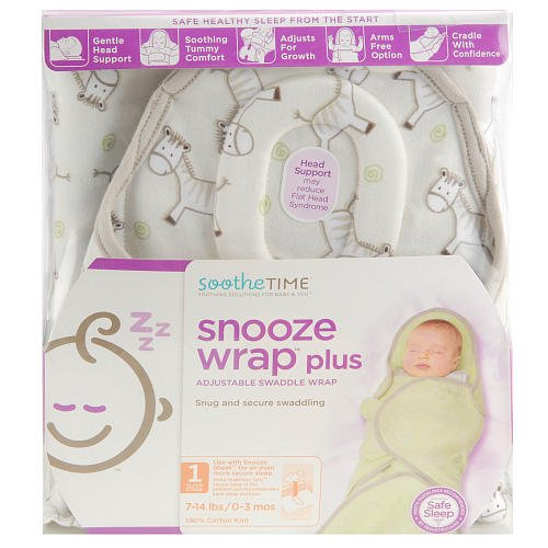 sootheTIME Snooze Wrap Plus - Neutral Print - 1