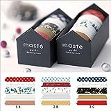 マークス マスキングテープ・クリスマスギフトセット/マステ/C MST-MKT36-C