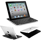 BESTEK® 3 in 1 combo ipad bluetooth wireless keyboard + ipad stand + ipad case, rechargeable with built in lithium battery BTBK5016