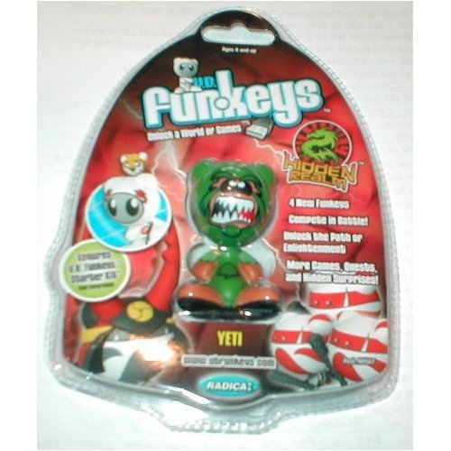 Buy Low Price Mattel Yeti Very Rare U.B. Funkeys Hidden Realm Figure (Green) (B001P2N1ZI)