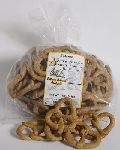 Uncle Henry'S 3 Lb. Whole Wheat Sesame Pretzels front-513663