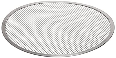 "Adcraft PZ-18714 14"" OD, Aluminum Pizza Screen"