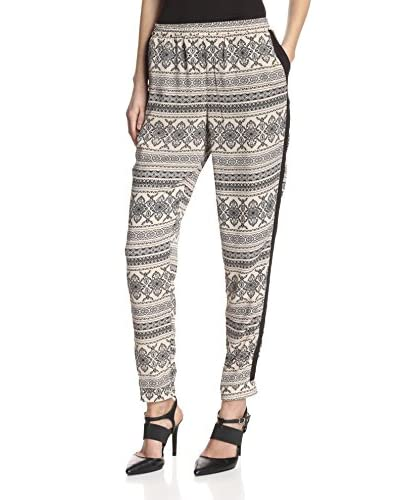 Romeo & Juliet Couture Women's Woven Printed Pants