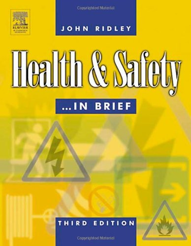 Health And Safety In Brief, Third Edition