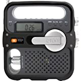 Eton Solarlink AM/FM/Shortwave Solar Crank Radio - Black/Silverby Eton