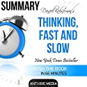 Daniel Kahneman's Thinking, Fast and Slow Summary Hörbuch von  Ant Hive Media Gesprochen von: Lee Crooks