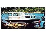 1973 Chris Craft 34 Aqua-To the heart Power Boat Factory Photo