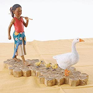 Thomas Blackshear's Jamboree Parade Gertie With Geese Figurine - First Issue