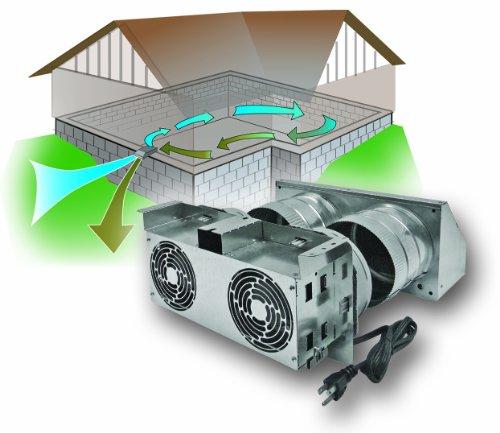 Awesome Xchanger Reversible Basement Ventilation Fan