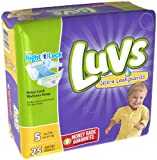 Luvs with Ultra Leakguards, Size 5 Diapers, 25 ea