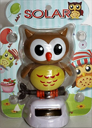 Solar Power Motion Toy - Owl, Dancing - 1