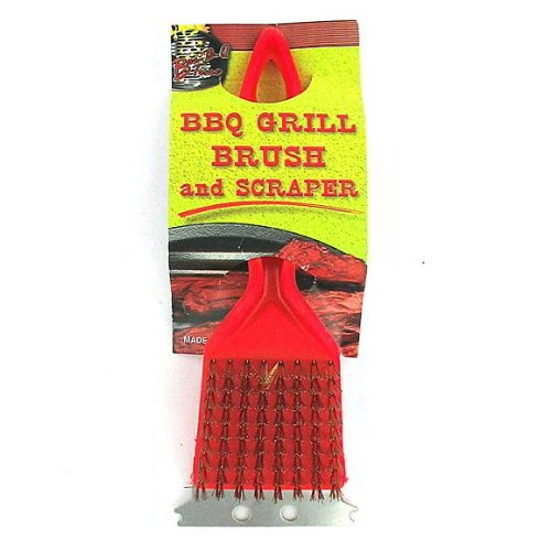 24 BBQ Grill Brushes w/Scrapers