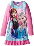AME Sleepwear Big Girls'  Frozen Anna and Elsa Nightgown