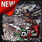 TRUE TIMBER HTC FULL SCALE CAMO LATE FALL DEER HUNTING HYDROGRAPHIC WATER TRANSFER FILM HYDRO DIPPING DIP DEMON WIZARD APE