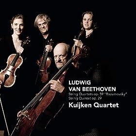 Beethoven: String Quartets op. 59 Razumovsky, String Quintet op. 29