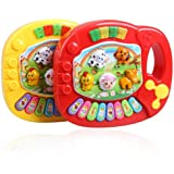 Vktech Baby Kids Musical Educational Animal Farm Piano Developmental Music Toy
