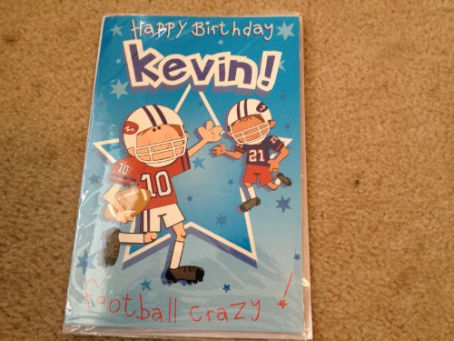 Happy Birthday Kevin - Singing Birthday Card