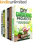 Chickens and Garden Box Set (6 in 1):...
