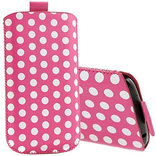 iTALKonline ROSA Qualität Rutsch Pouch Case Schutzhülle mit Pull Tab - Nokia Lumia 610