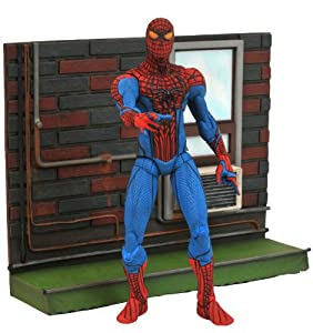Diamond Select Toys LLC Marvel Select Amazing Spider Man Movie Action Figure