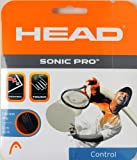 Head Sonic Pro Tennis String - 17 gauge - Black - 1 Set - 40 ft