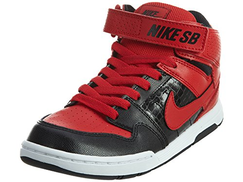 Nike SB Mogan Mid 2 JR (GS) Boys' Skateboarding Shoe (7 BIG KID M , UNIVERSITY RED/BLACK/WHITE/UNIVERSITY RED) (Nike Mogan Mid 2 Jr compare prices)