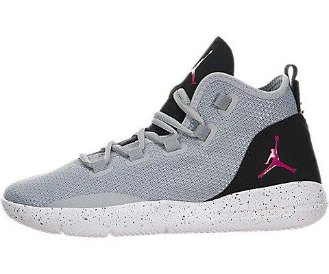 Nike JORDAN REVEAL GG - Scarpe da ginnastica Bambina, Grigio, 37.5