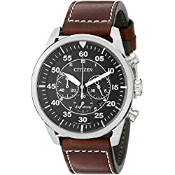 Citizen Eco-Drive Military Avion Men's Chronograph Watch