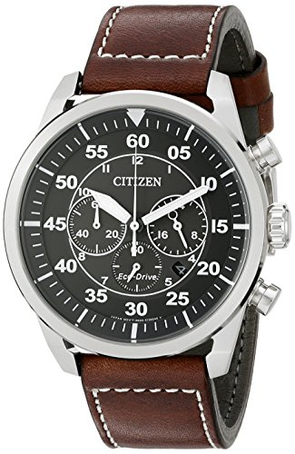 citizen-mens-ca4210-24e-stainless-steel-eco-drive-watch-with-brown-band