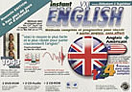 Instant English VXL Méthode Complete (niveaux 1 à 4) - DVD ROM MAC Version 2008