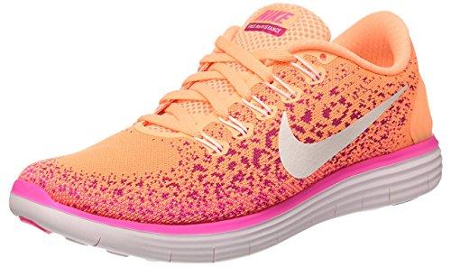 Nike Donna Wmns Free Rn Distance scarpe da corsa arancione Size: 39 EU