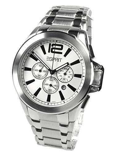 Esprit Mujer-reloj analógico de cuarzo cuero ES101292F01