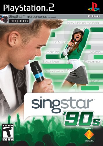 Singstar '90S (Stand Alone) - Playstation 2 front-570165