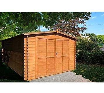 Chalet jardin jardin garage bois 18 5m2 int rieur for Chalet jardin 5m2